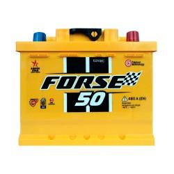 Аккумулятор Forse Westa 50Ah R+ 480A (низкобазовый)