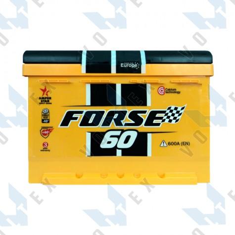 Аккумулятор Forse Westa 60Ah R+ 600A
