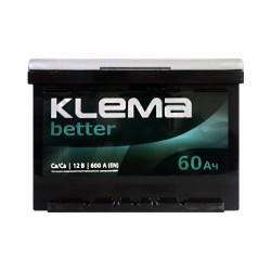Аккумулятор Klema better 60Ah L+ 600A