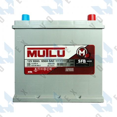 Аккумулятор Mutlu SFB technology 68Ah JR+ 600A
