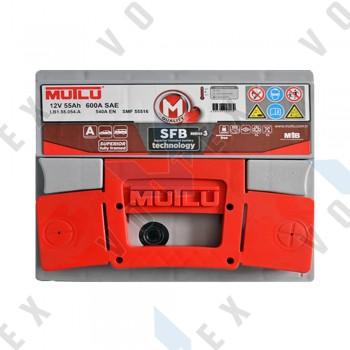 Аккумулятор Mutlu SFB technology 55Ah R+ 540A (низкобазовый)