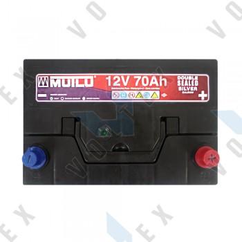 Аккумулятор Mutlu 70Ah JR+ 630A