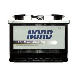 Аккумулятор Nord 60Ah L+ 480A