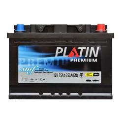 Аккумулятор Platin Premium SMF 75Ah R+ 750A