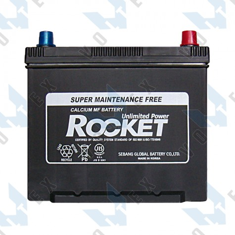 Аккумулятор Rocket SMF75B24LS 55AH JR+ 470A