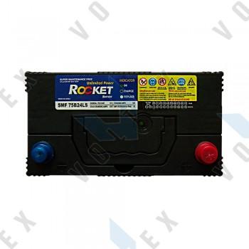 Аккумулятор Rocket SMF75B24LS 55AH JR+ 470A