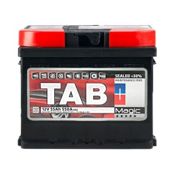Аккумулятор Tab Magic 55Ah R+ 550A