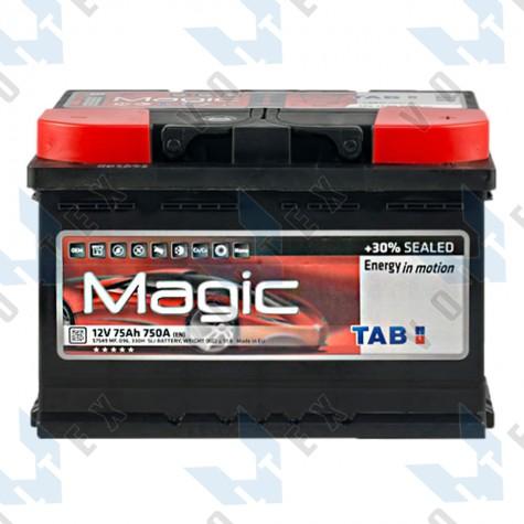 Аккумулятор Tab Magic 75Ah R+ 750A