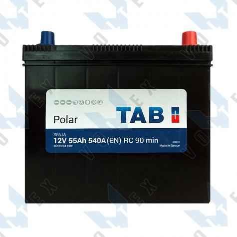 Аккумулятор Tab Polar S 55Ah JR+ 540A