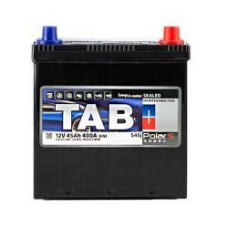 Аккумулятор Tab Polar S 45Ah JR+ 400A (тонкая клемма)