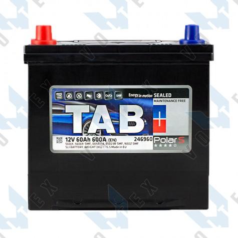 Аккумулятор Tab Polar S 60Ah JL+ 600A