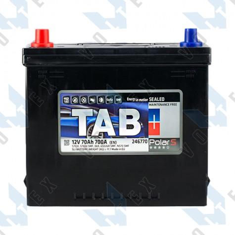 Аккумулятор Tab Polar S 70Ah JL+ 700A