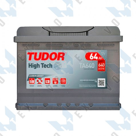 Аккумулятор Tudor High-Tech 64Ah R+ 640A