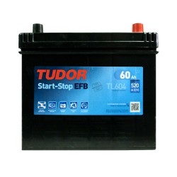 Аккумулятор Tudor Start-Stop Asia 60Ah JR+ 520A