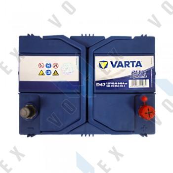 Аккумулятор Varta Blue Dynamic 60Ah JR+ 540A