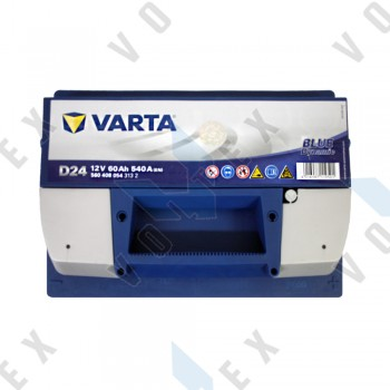 Аккумулятор Varta Blue Dynamic 60Ah R+ 540A