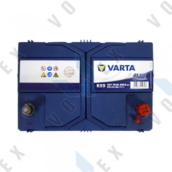 Аккумулятор Varta Blue Dynamic 70Ah JR+ 630A