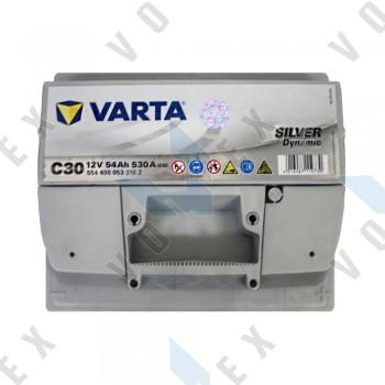 Аккумулятор Varta Silver Dynamic 54Ah R+ 530A