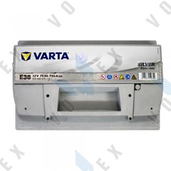 Аккумулятор Varta Silver Dynamic 74Ah R+ 750A (низкобазовый)