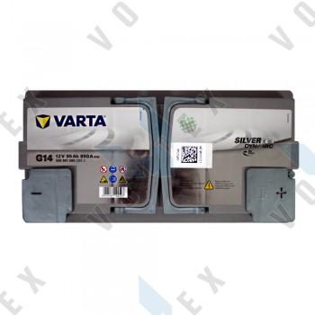 Аккумулятор Varta Silver Dynamic AGM 95Ah R+ 850A