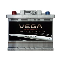 Аккумулятор Vega Limited Edition 50Ah L+ 480A