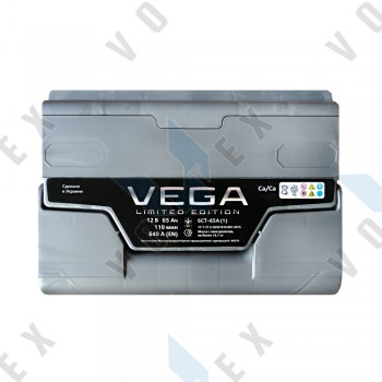 Аккумулятор Vega Limited Edition 65Ah L+ 640A