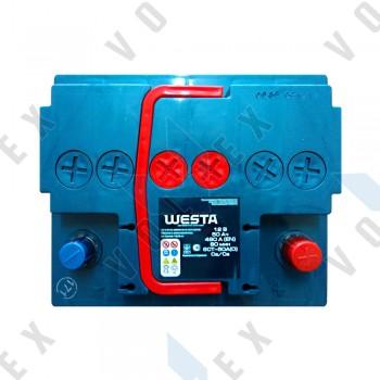Аккумулятор Westa Premium 50Ah R+ 480A (низкобазовый)