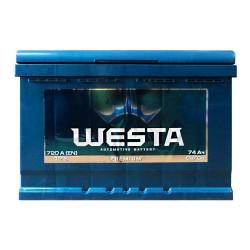 Аккумулятор Westa Premium 74Ah L+ 720A
